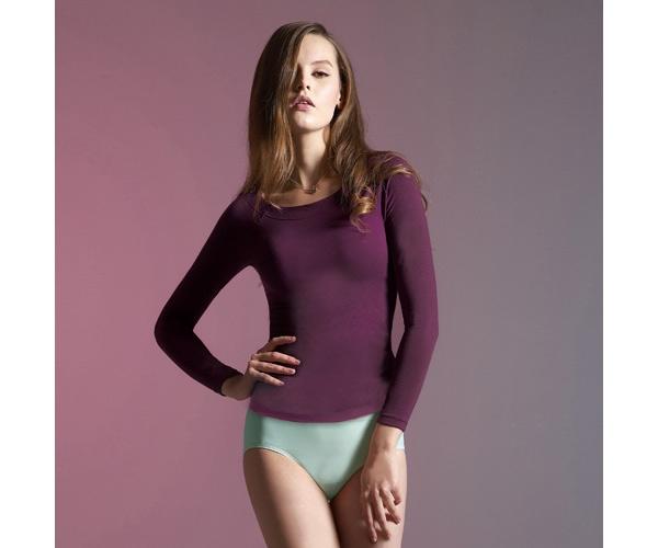 【曼黛瑪璉】I10002衛生衣(華麗紫)(本品未購滿4件,恕無法出貨)