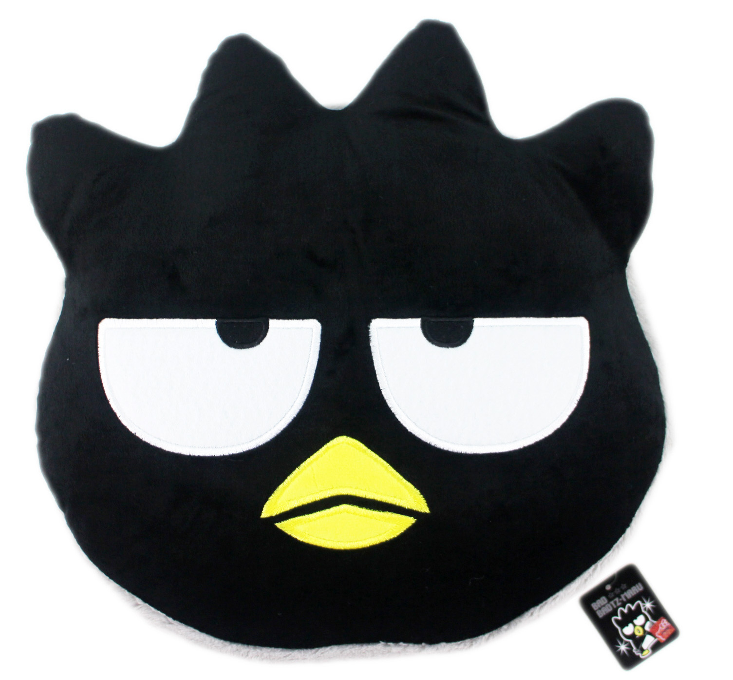 【卡漫城】 酷企鵝 抱枕 33cm 馬卡龍 ㊣版 絨毛 娃娃 Badtz Maru 午休枕 玩偶 午安枕 靠墊 靠枕