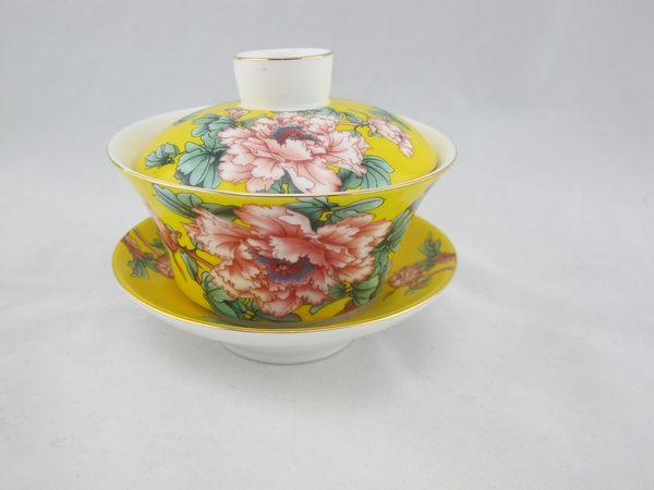 黃花蓋碗 大 190毫升 全祥茶莊 OH23