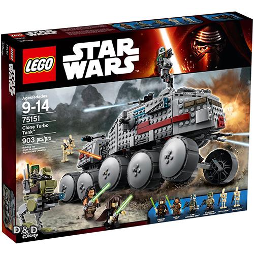 樂高積木LEGO LT75151 STAR WARS星際大戰系列Clone Turbo Tank JOYBUS玩具百貨