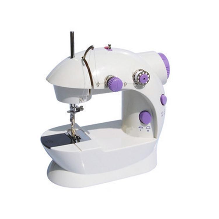 縫紉機臺式家用電動多功能縫紉機迷你手動微型縫紉機吃厚居家物語