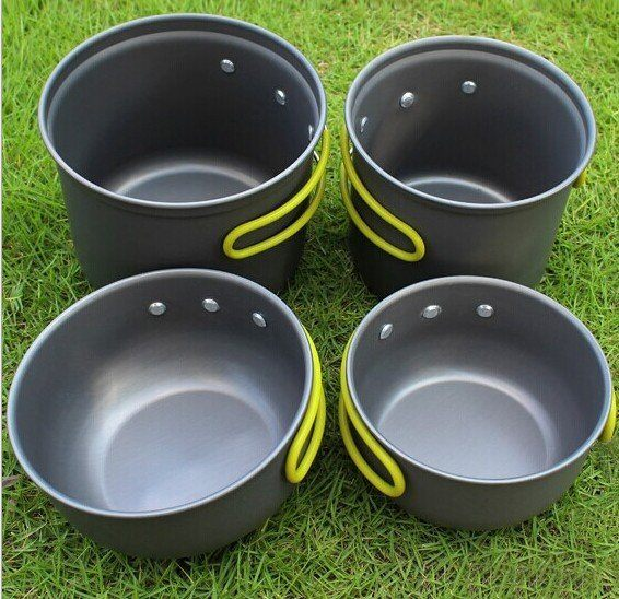 輕量化2 3人攻頂爐可放登山瓦斯罐跟爐頭野炊套鍋登山露營套鍋