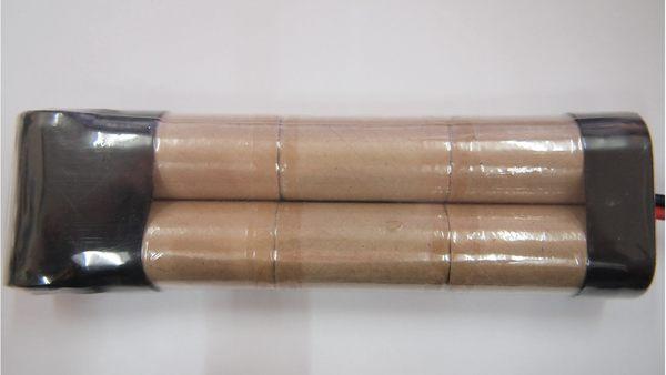 全館免運費電池天地小2號鎳鎘充電電池8.4V 2000mah遙控車電池工業用電池.特殊電池