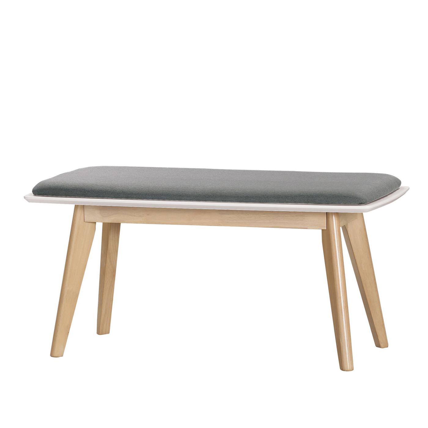 長凳 瑞塔白橡色長板凳 (不含餐椅餐桌)﹝17CM/1030-3﹞H&D東稻家居
