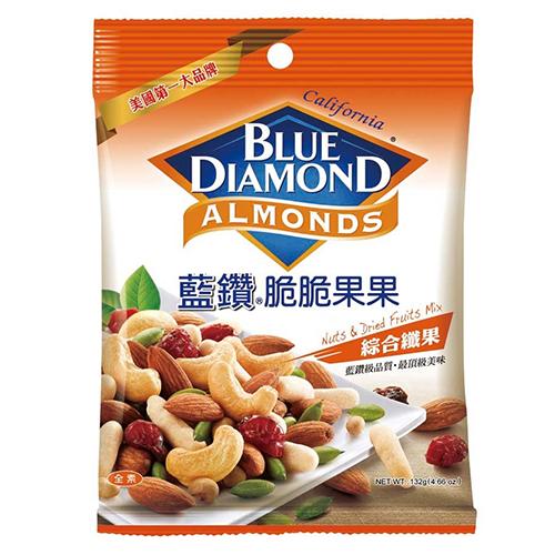 加州藍鑽脆脆果果綜合纖果132g愛買