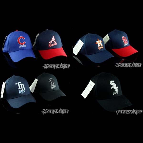 speedkobe MLB美國大聯盟可調式球迷帽棒球帽鴨舌帽洋基小熊紅雀光芒勇士多隊543200