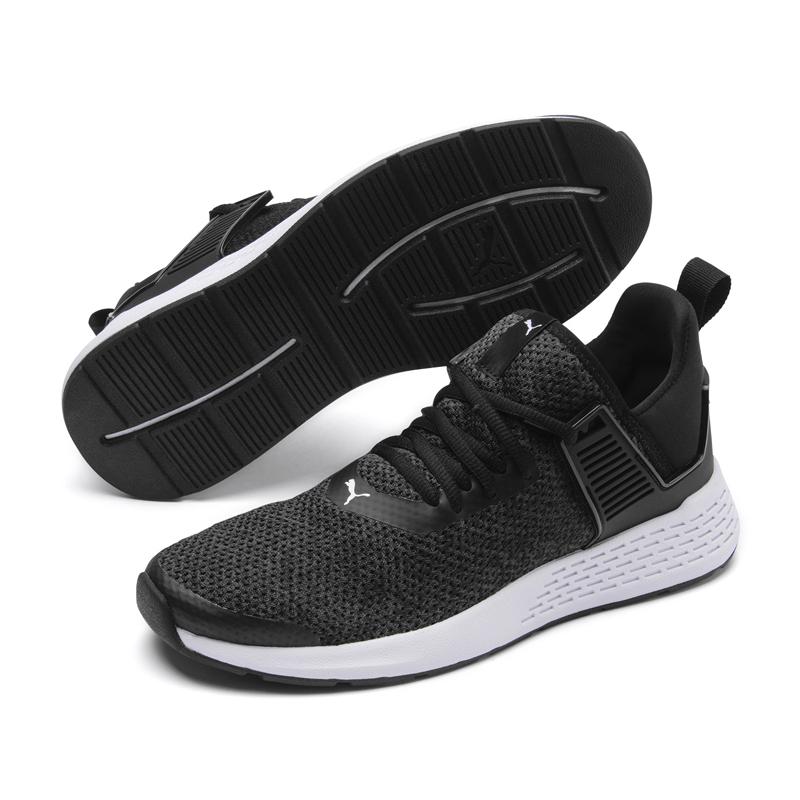 Puma Insurge 男女鞋 灰黑 運動鞋 慢跑鞋 記憶鞋墊 套襪式 透氣網布 慢跑 健身 跑鞋 36948201