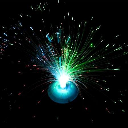 聖誕節禮物閃光光纖花發光纖燈省錢博士七彩滿天星變色閃光燈