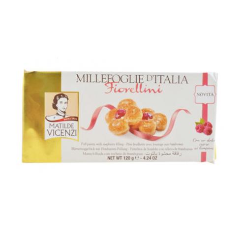 維西尼千層酥覆盆子口味120g愛買