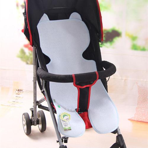 汽車安全座椅嬰兒推車竹纖維透氣防水隔尿座墊手推車座墊透氣座墊隔尿墊防水墊