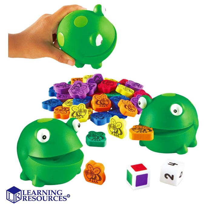 華森葳兒童教玩具感覺統合系列-LearningResources青蛙夾夾樂N1-5072