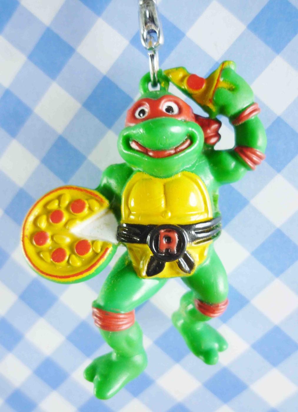 【震撼精品百貨】日本精品百貨-手機吊飾/鎖圈-忍者龜系列-造型鎖圈-披薩
