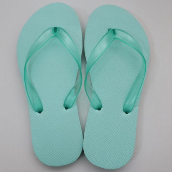 EVA素色人字拖鞋 女款-湖水綠|台製海灘拖 台灣製 人字拖 沙灘拖 夾腳拖 拖鞋 室內室外 兩用