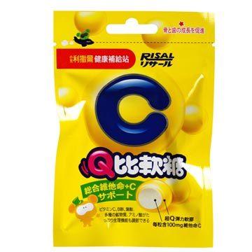 利撒爾 Q比軟糖(綜合維他命 C) 25g/包【躍獅】
