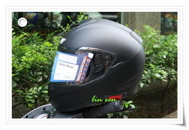 M2R安全帽F5素色消光黑