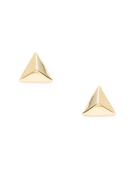Ava Aiden耳環三角形圖案金屬耳環