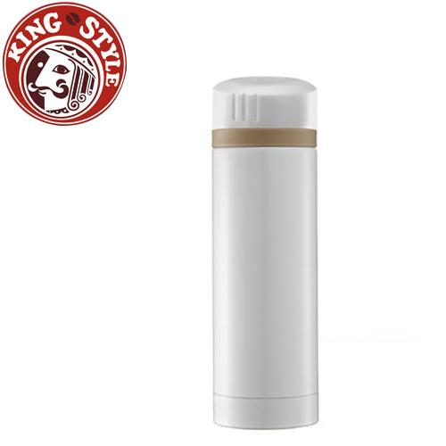 金時代書香咖啡Tiamo馬卡龍輕甜系列隨手杯300cc保溫瓶白色