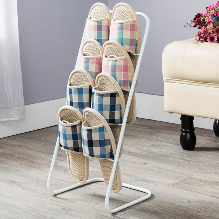 歐式鞋架 鐵藝多層防塵可拆卸小鞋架 簡易拖鞋架創意收納拖鞋架 igo