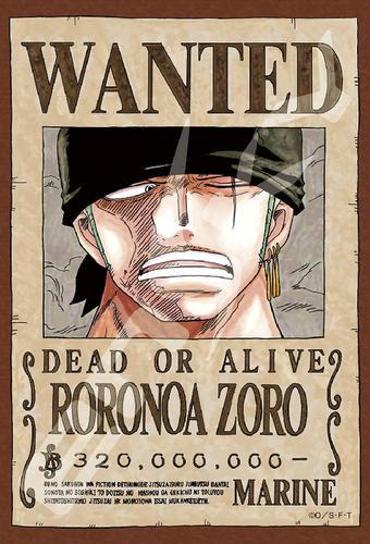 拼圖總動員PUZZLE STORY航海王新版懸賞單-索隆日本進口拼圖Ensky海賊王One Piece 150P迷你