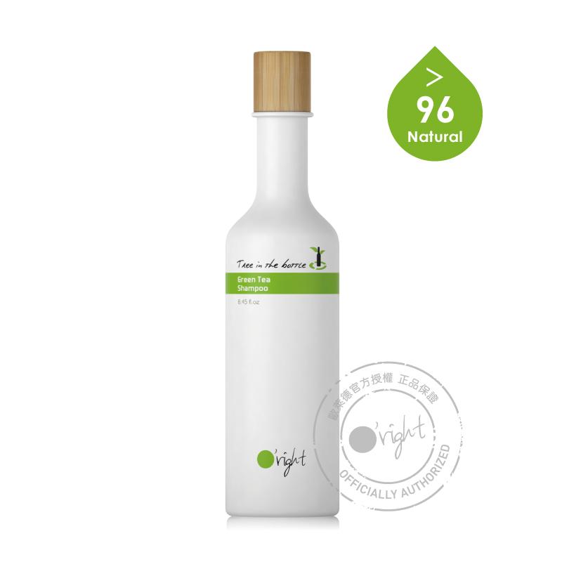 歐萊德O'right瓶中樹綠茶洗髮精250ml