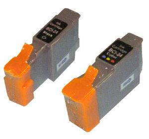 CANON相容墨水匣BCI-24BK黑色BCI-24C彩色單顆任選適S200SP S200SPX I320 I450 I470D I255 I355 MP110 MP130