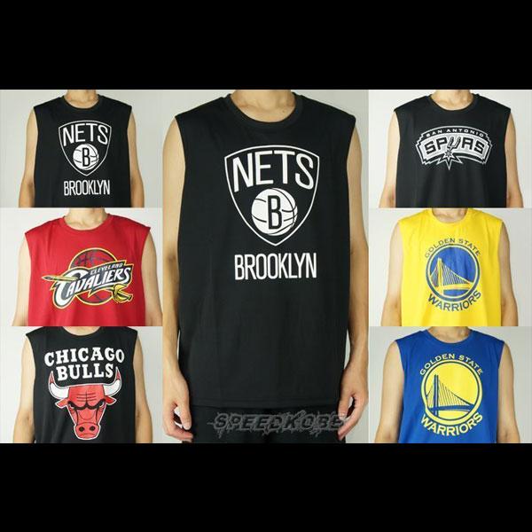 創信NBA胸口隊徽多隊排汗背心籃網公牛騎士馬刺勇士男生女生都可以穿喔8630401-SP
