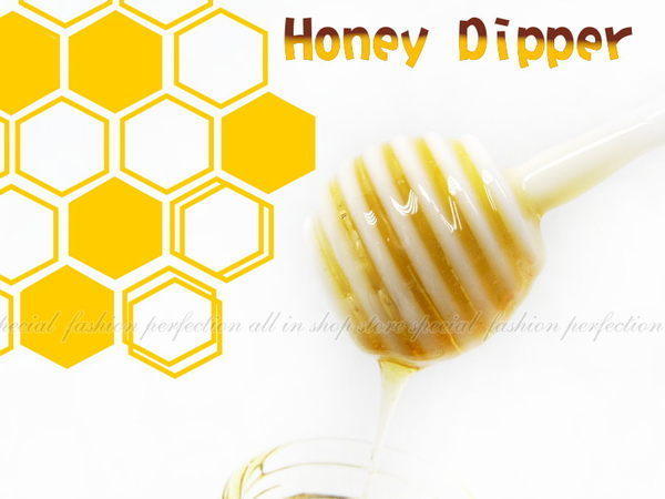 DN283創意蜂蜜攪拌棒C-339咖啡飲料攪拌蛋糕鬆餅糖漿上色好幫手EZGO商城