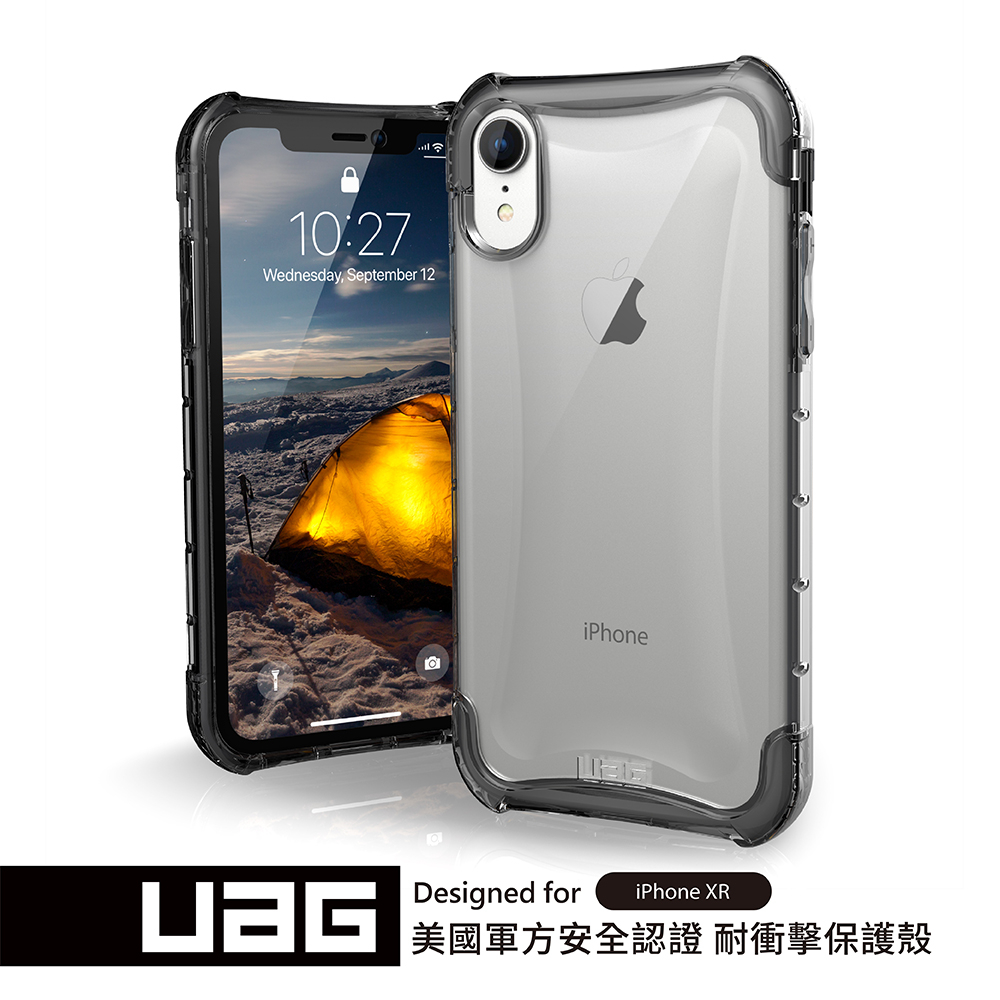 UAG IPhone XR 耐衝擊全透保護殻-透明