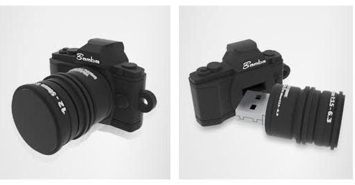 【東西商店】Bamba  迷你單眼相機造型隨身碟 4G