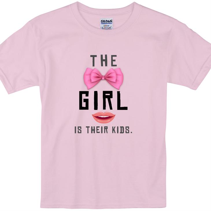 兒童短袖T-shirt 【Girl】 粉紅 (850 Collections)