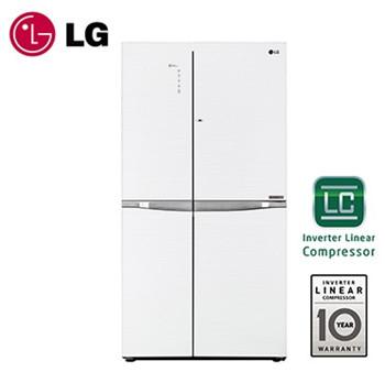 LG 樂金 825公升 門中門 對開冰箱 GR-DB78G ◆105/6/30前送積木保鮮罐3件組
