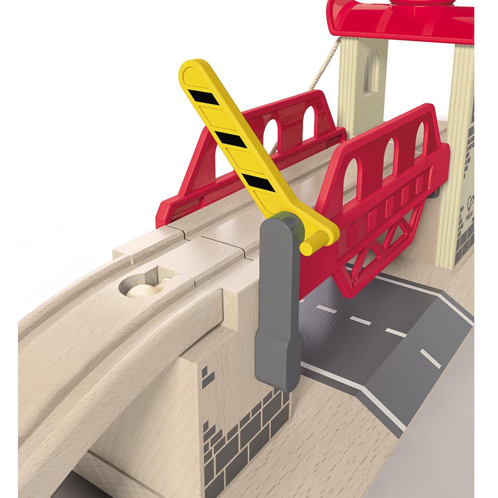 【免運費】《 德國 Hape 愛傑卡》 軌道系列 - 升高橋╭★ JOYBUS玩具百貨