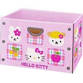 波克貓哈日網hello kitty凱蒂貓玩具收納盒三層櫃收納盒日本正式授權之產品