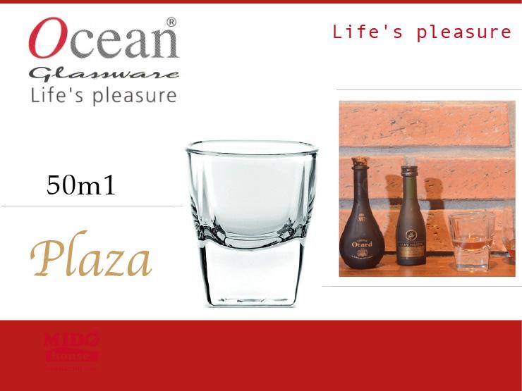 Ocean BP00210 Plaza方形烈酒杯-50ml《Mstore》