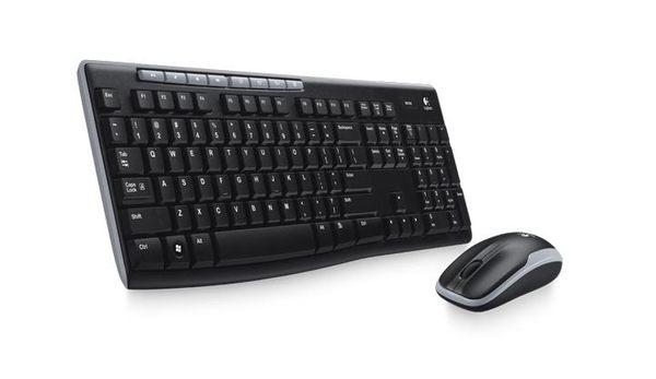 羅技無線滑鼠鍵盤組MK270r