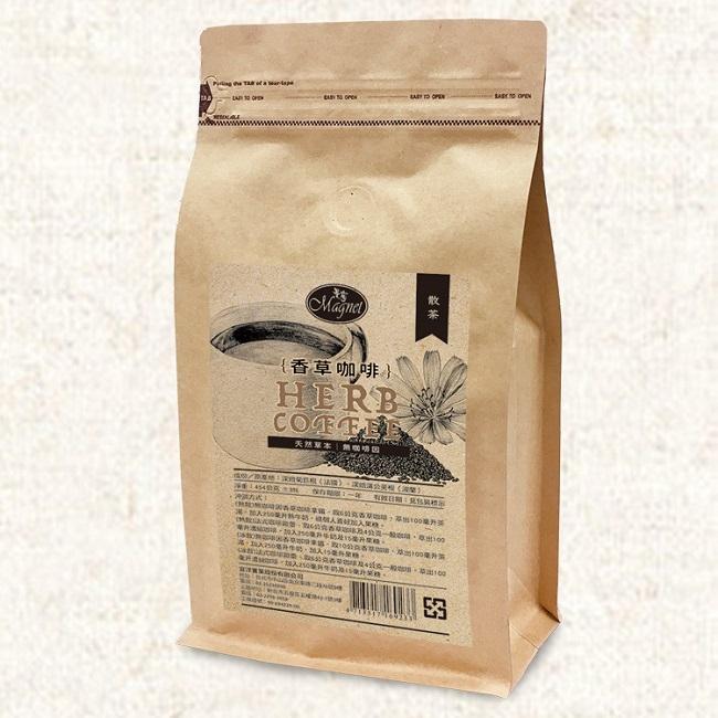 曼寧 香草咖啡(散茶) 454g/包 以菊苣根蒲公英調配 無咖啡因