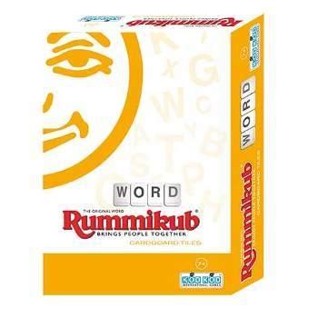 高雄龐奇桌遊拉密英文字彙外出型簡易版Rummikub Word Cardboard Lite正版桌上遊戲專賣店