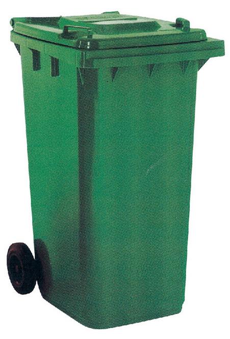 【IS空間美學】資源回收拖桶(120公升)