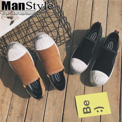 休閒鞋港風運動休閒貝殼頭男鞋板鞋休閒鞋08B-S0032