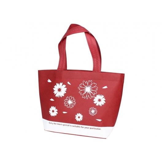 紅色無紡袋環保袋提袋不織布袋購物袋