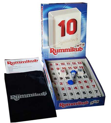 高雄龐奇桌遊拉密專業版Rummikub Club麻將版正版桌上遊戲專賣店