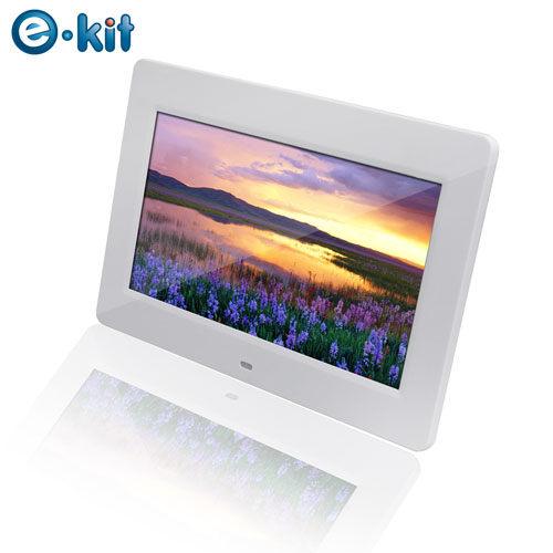 逸奇e-Kit 10吋高品質白天使數位相框電子相冊DF-F024