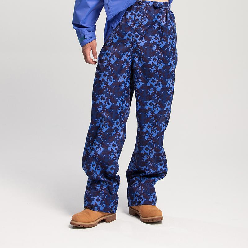 MORR Expansion可收納延伸鞋套雨褲迷彩藍登山通勤機車兩件式