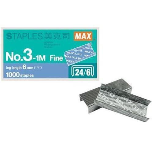 《☆享亮商城☆》MAX-3-1M(24/6) 釘書針 MAX