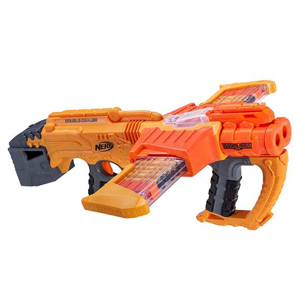 孩之寶Hasbro NERF系列兒童射擊玩具2169救世系列雙重側擊B5367
