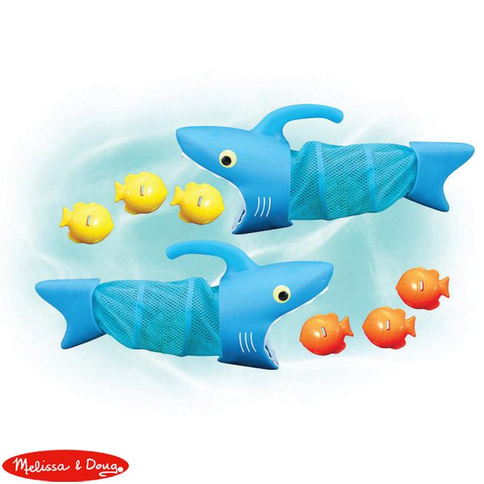華森葳兒童教玩具戶外遊戲器材-鯊魚抓魚網N7-6664