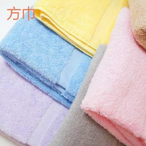 TELITA純棉素色方巾(一入)