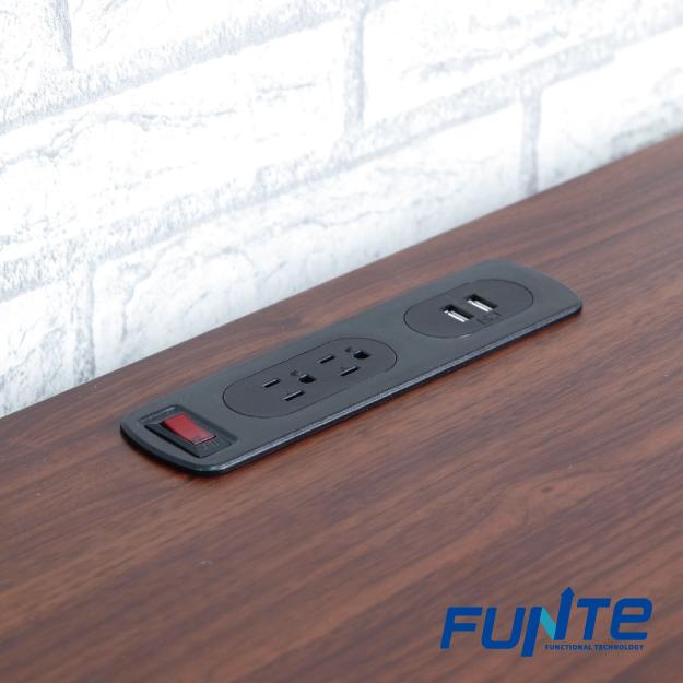 【FUNTE】桌上型電源延長線