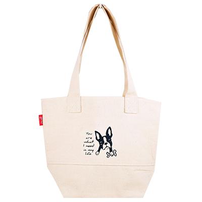 帆布袋 托特包 慢活法鬥 帆布包 手提包 手提袋 環保購物袋 文青帆布袋【mocodo 魔法豆】