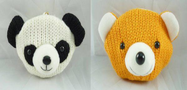 震撼精品百貨日本泰迪熊~零錢包熊貓熊共2款